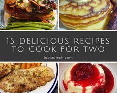 Yes, leftovers are great - but eating the same crock pot meal for an entire week can get old real quick. Check out these delicious recipes that are great when you're cooking for two!