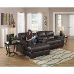 Jackson Furniture - Lawson 3 Piece Sectional in Chocolate Leather - 4243-75-88-42  SPECIAL PRICE: $1,588.20