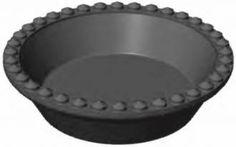 Forma pre CookMatic, Kruh PF, veľký, zdobený, 8 ks