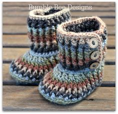 Non Slip Crochet Baby Rainbow Slippers, Booties, brown, woodland, Size 12-18 months, Merino wool, booties, gift, handmade, crochet