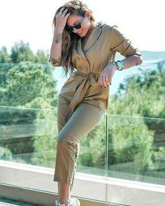 Jumpsuit, Female Celebrities, Greek, Pants, Dresses, Fashion, Catsuit, Gowns, Moda