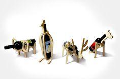 Animal Wine Rack