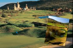 Lost City Golf Course – Sun City, South Africa – You can find well-designed golf courses nearly anywhere, but the really special ones require a little something extra — like. City Golf, Famous Golf Courses, Public Golf Courses, Mauritius, Sun City South Africa, Safari, South Afrika, Coeur D Alene Resort, Augusta Golf