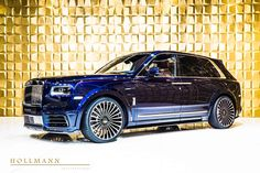Rolls-Royce Cullinan by Mansory - Hollmann - Luxury Pulse Cars - Germany - For sale on LuxuryPulse. Top Luxury Cars, Luxury Suv, My Dream Car, Dream Cars, Rolls Royse, Rolls Royce Black, Rolls Royce Limousine, Vintage Rolls Royce, Rolls Royce Cullinan