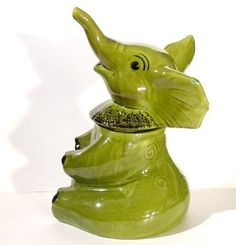 .Doranne of California, Elephant Cookie Jar.                              t