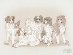 Jaded-Night dog portrait by Plaguedog.deviantart.com on @DeviantArt
