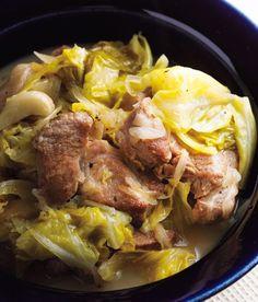 おもてなしにも。キャベツと豚肉の蒸し煮。【川津幸子さんのレシピ】 | レシピとグルメ | クロワッサン オンライン Pork, Meat, Pork Roulade, Pigs, Pork Chops