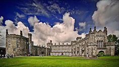 Kilkenny Castle, Ireland. built in 1195