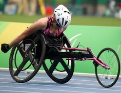 Jessica Lewis has set a personal best in the T53 400 metres after finishing sixth in her heat at the Paralympic Games in Rio de Janeiro today.The 23-
