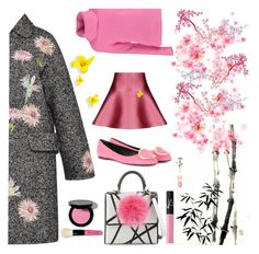 """""""Springtime"""" by nicolevalents ❤ liked on Polyvore featuring Blumarine, Les Petits Joueurs, Roger Vivier, Bobbi Brown Cosmetics, NARS Cosmetics, women's clothing, women, female, woman and misses"""