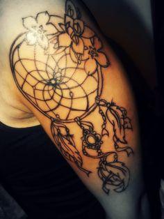 atrapa sueños  tattoo