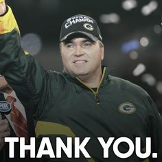 No matter what you think of Mike McCarthy in it's undeniable that he did great things for the Packers' organization. Packers Baby, Go Packers, Green Bay Packers Fans, Greenbay Packers, Packers Football, Nfl Green Bay, Football Coaches, Best Football Team, Football Memes