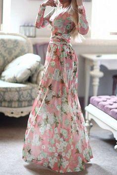 floral maxi