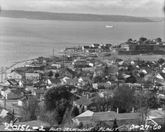 Alki area, pictured Jan. 27, 1960. Photo: City Of Seattle Municipal Archives