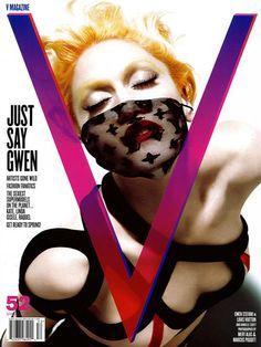 V MAGAZINE #52 GWEN STEFANI in LOUIS VUITTON