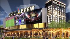 NBC Sports Grill & Brew at Universal CityWalk Fall 2015 | The newest venue coming to Universal Orlando CityWalk this fall 2015! The first NBC Sports Bar!