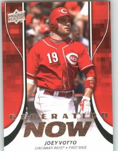 2009 Upper Deck Update Generation Now #GN29 Joey Votto - Cincinnati Reds (Baseball Cards) by Upper Deck Update Generation Now. $1.50. 2009 Upper Deck Update Generation Now #GN29 Joey Votto - Cincinnati Reds (Baseball Cards)