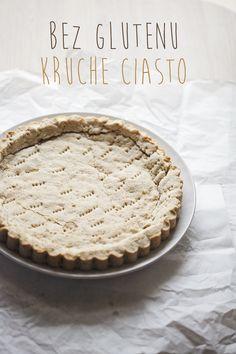 kruche ciasto bez glutenu 1 Calzone, Granola, Food And Drink, Pizza, Gluten Free, Cook, Cakes, Kitchen, Recipes