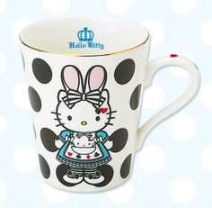 Hello Kitty in Wonderland. I like each coffee mug to be different & unique to my interests ^.^;