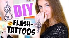 YouTube Flash Tattoos, Eyeliner Pen, Diy Tattoo, Youtube, Diys, Make It Yourself, Beauty, Carnavals, Tattoo Flash