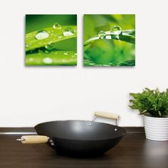 Deco Glass Wall Decor - After the Rain Set  $34.99