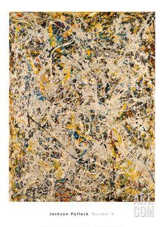 No. 9, 1949 Print by Jackson Pollock at Art.com