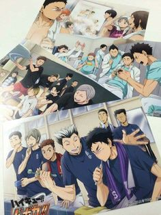 Haikyuu!! Postcards