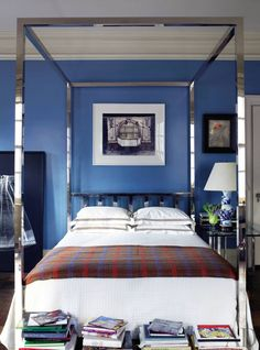 11 Colorfully Masculine Bachelor Pads