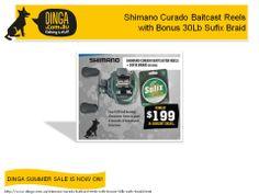 Shimano Curado Baitcast Reels with Bonus 30Lb Sufix Braid
