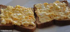 High Protein Egg Spread - when it comes to hard boiled eggs,I leave out the yolk & because of this,I add another egg to boiled.