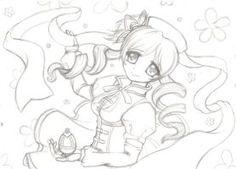 Mami Tomoe Sketch by Drawing Sketches, Drawings, Tomoe, Art Work, To My Daughter, My Arts, Ink, Deviantart, Gallery