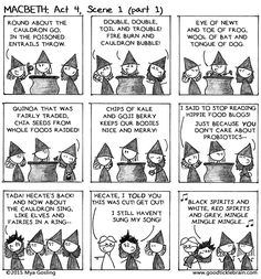Macbeth, part 22 — Good Tickle Brain: A Mostly Shakespeare Webcomic