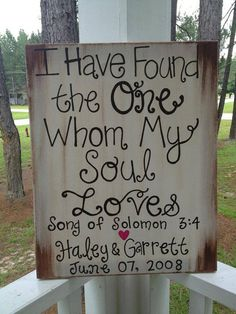 Rustic Wedding Sign Decoration by jgcreationsbyjg on Etsy