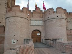 Located in Valladolid, Spain, building on La Mota, Medina del Campo Castle began sometime in the century as a residence for Alfonso VIII. The and centuries saw further additions and improvements under the rule of Henry IV. Renaissance Time, British Overseas Territories, Medieval Castle, Spain Travel, Palaces, Trip Planning, Places To Go, Beautiful Places, Around The Worlds
