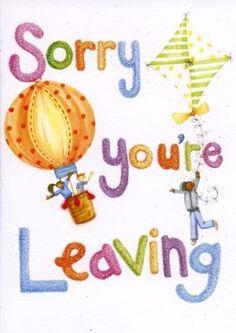 Farewell Card - booo not fun that i have to make one. | Eureka ...