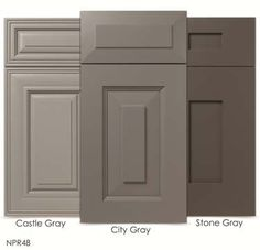 Light Gray Kitchen Cabinets | Cabinet Makers Association | WalzCraft Announces New Gray SolidTone ... Footnote: Refaced?