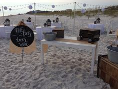 White Linen with Mis-matched white chairs, burlap runner