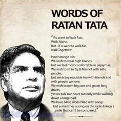 Words of ratan tata
