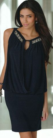 I adore this dress! Blue, teal color.