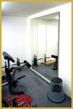 Unique Large Mirrors for Gym