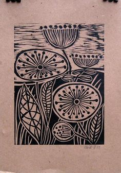 linoleum printmaking process - Google Search