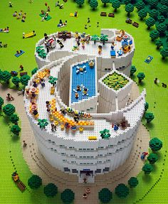 New York Times Magazine Lego Cover: The inspiration for the scene was Central Park