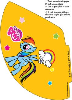 Free My Little Pony Birthday Party Banner Printables Girls FREE