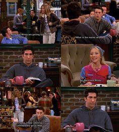 Friends. Poor Ross. :) & GO JOEY!