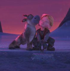Disney Frozen Sven and Kristoff #DisneyFrozen