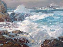 marine oil paintings: Joel Rea