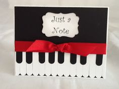 """""""Just a Note"""" punch art"""