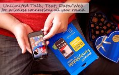 Unlimites Talk, Text, and Data for one low price with Walmart #FamilyMobile. The perfect gift to keep you connected all year round. #shop #cbias