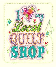 Join the LQS love with LocalQuiltShopDay.com! Quilting Quotes, Quilting Tips, Quilting Fabric, Quilting Projects, Handkerchief Crafts, Amy Butler Fabric, Sewing Quotes, Cute Quilts, Vintage Handkerchiefs