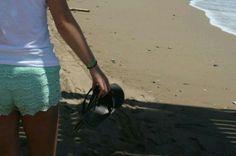 #beach #flipflops #walk #travel